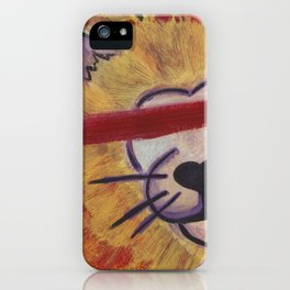 Save The Lions iPhone Case