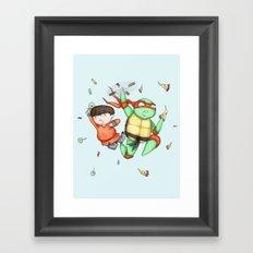 Mike & Tum Tum Framed Art Print
