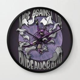 Rage against the Bureaucracy Wall Clock