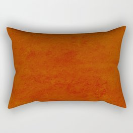 concrete orange brown copper plain texture Rectangular Pillow