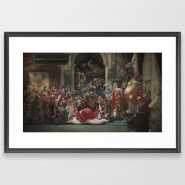 Coronation JarvanIV Framed Art Print