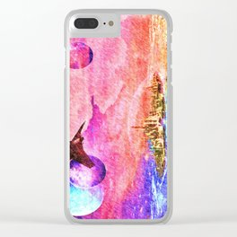 Ancient city 2 Clear iPhone Case