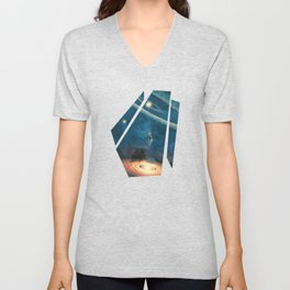 My dream house is in another galaxy Unisex V-Neck