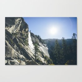 Yosemite Waterfall Canvas Print