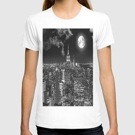 New York Under the Moon T-shirt