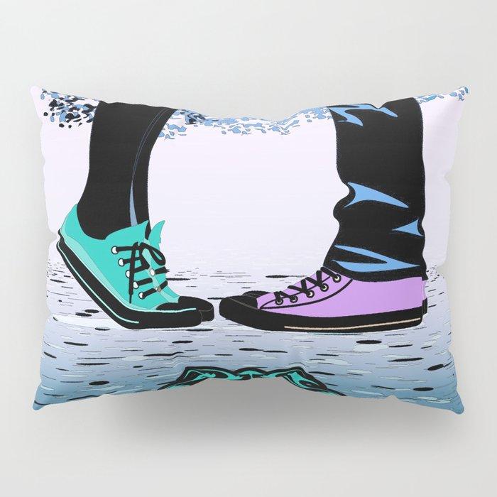 Couple Love massage texture Pillow Sham