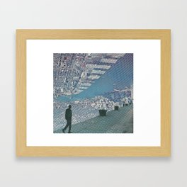 Up town Framed Art Print