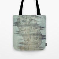 milan Tote Bags featuring Milan by TheSiro