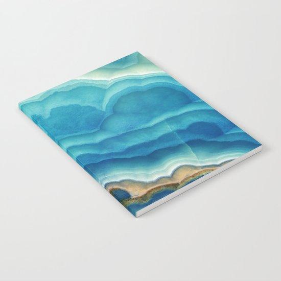 Blue Onyx Notebook
