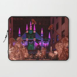 Christmas greetings from New York Laptop Sleeve