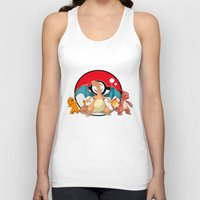 charizard Tank Tops featuring Charizard evolution by Fred Vilair