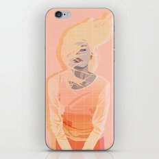 Peach iPhone & iPod Skin