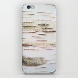 Birch bark iPhone Skin