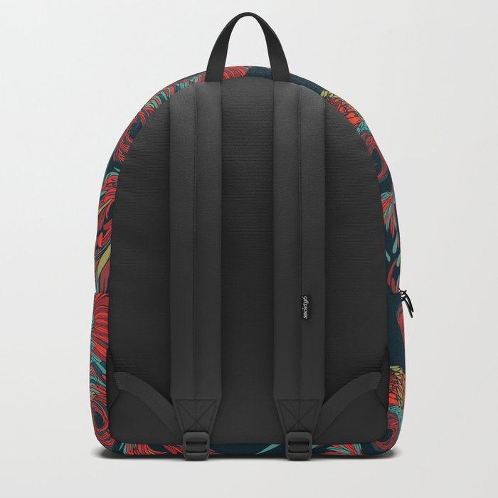 Rooster Skull Backpack