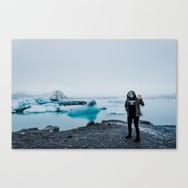ALIENS IN ICELAND // Canvas Print