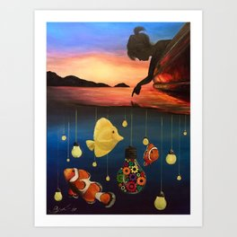 A Dreamers Dream Art Print