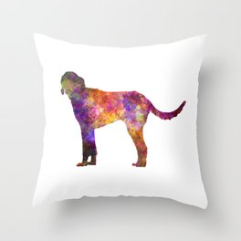 Billy in watercolor Throw Pillow