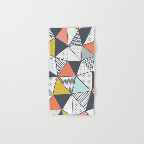 Triangles Hand & Bath Towel