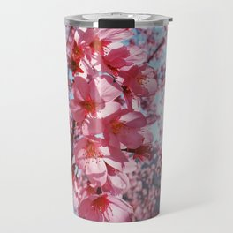 Sakura and sun Travel Mug