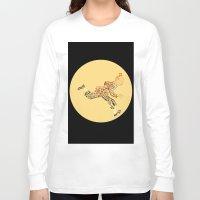tintin Long Sleeve T-shirts featuring Tintin in type by jammyjambob