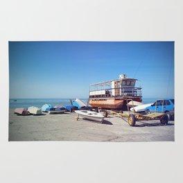Yachts and boats Rug