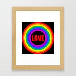 Come to the Center Framed Art Print