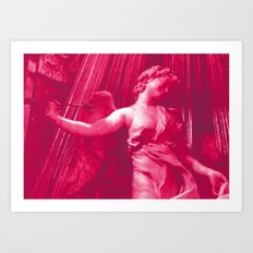 Bernini' s Angels Art Print