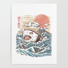 Sharkiri Sushi Poster