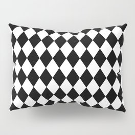 Rhombus (Black/White) Pillow Sham