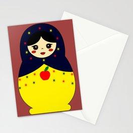 Snow White Nesting Doll Stationery Cards