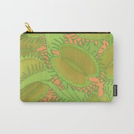 Free Hugs (Venus flytrap - Orange) Carry-All Pouch