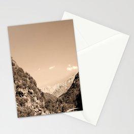 Atlas Mountain range Morroco Stationery Cards