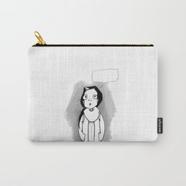 Schoolgirl speaking Carry-All Pouch