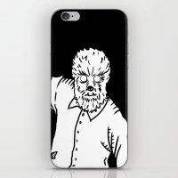 werewolf iPhone & iPod Skins featuring Werewolf by Pedro Santasmarinas