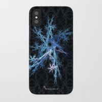 snowflake iPhone & iPod Cases featuring Snowflake by MG-Studio