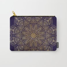 Gold Mandala Carry-All Pouch