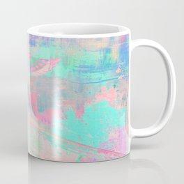 Totem Cabin Abstract - Pastel Coffee Mug