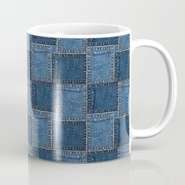 Denim Patch Coffee Mug