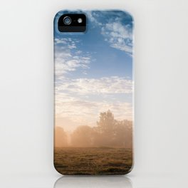 July morning 2 iPhone Case