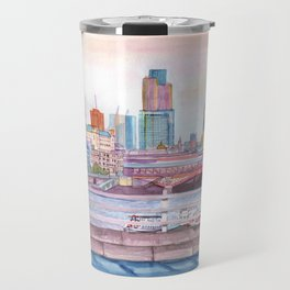 Colorful London Travel Mug
