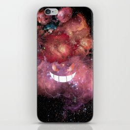 Space Gengar iPhone Skin