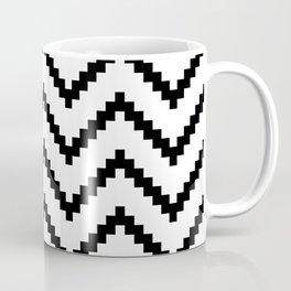 Tribal Chevron W&B Coffee Mug