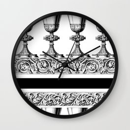 Here's to You! Wall Clock