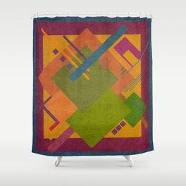 Geometric illustration 32 Shower Curtain