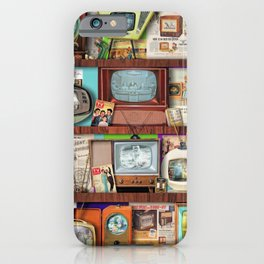 The Golden Age of Television iPhone Case