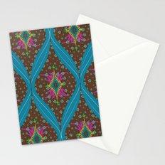 teardrop pattern Stationery Cards