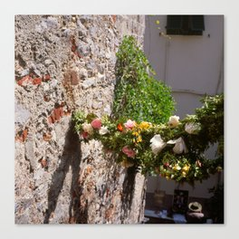 now before you and me (Porto Venere, Italy) Canvas Print
