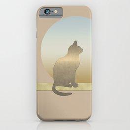 Cozy Cute Cat iPhone Case