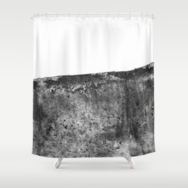 The Margaret / Charcoal + Water Shower Curtain