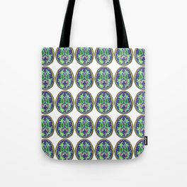 Happy Rainbow Brain Scan Tote Bag